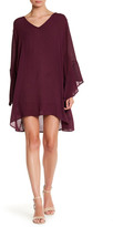 Lush Bell Sleeve Shift Dress