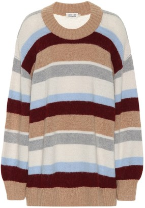 Baum und Pferdgarten Calinda striped wool-blend sweater