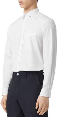 Burberry Men's Sultan Button-Collar Pocket Sport Shirt