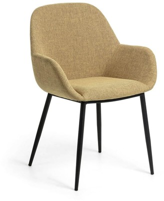 La Forma Australia Fabio Dining Chair Mustard