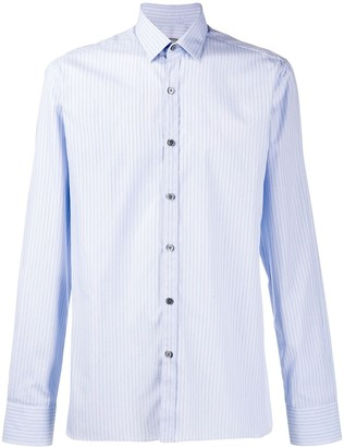 Lanvin striped fitted shirt