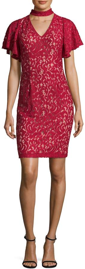 Alexia Admor Women's Velvet Midi Dress