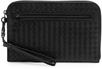 Bottega Veneta Leather Document Case