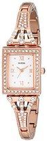 GUESS Women's U0430L3 Classic Rose Gold-Tone Watch