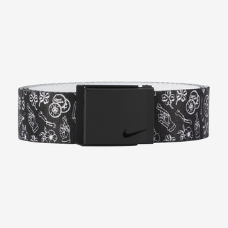 Nike Men's Printed Single Web Golf Belt