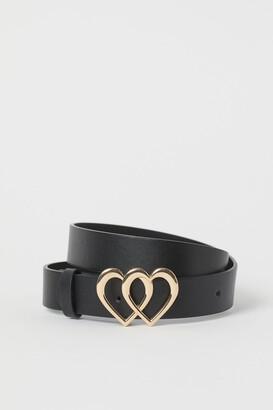 H&M Heart-buckle Belt