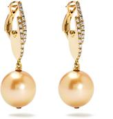 MAURIZIO PINTALDI Diamond, pearl & rose-gold earrings