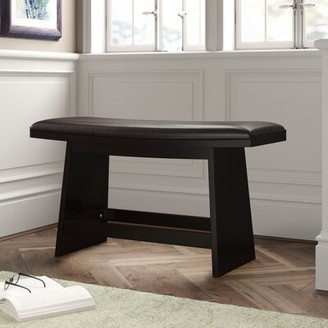 Hokku Designs Lawrence Faux leather Bench