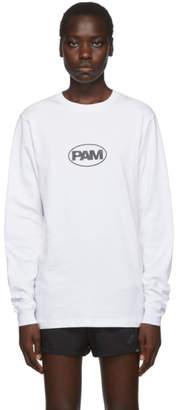 Perks And Mini White Oval Logo Long Sleeve T-Shirt