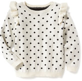 Old Navy Ruffle-Trim Sweater for Toddler Girls