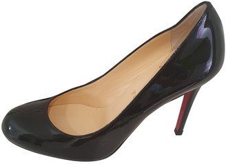 Christian Louboutin Simple pump Black Patent leather Heels