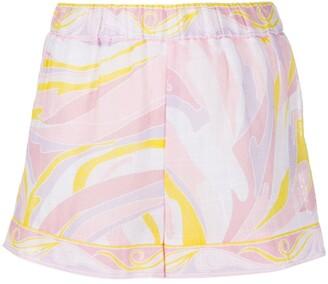 Emilio Pucci Vetrate print shorts