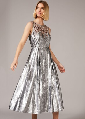 Phase Eight Lainey Shimmer Sequin Midi Dress
