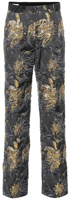 Dries Van Noten Brocade pants