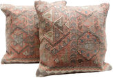 One Kings Lane Vintage Tribal Jijim Pillows, Pair