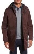 Ted Baker Men's Longline Raincoat With Zip Out Vest
