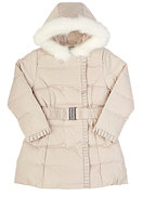 American Widgeon AMERICAN WIDGEON FAUX-FUR-TRIMMED COAT-NUDE SIZE 3