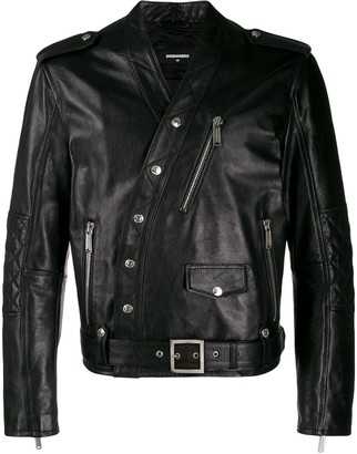 DSQUARED2 Off-Centre Button Jacket