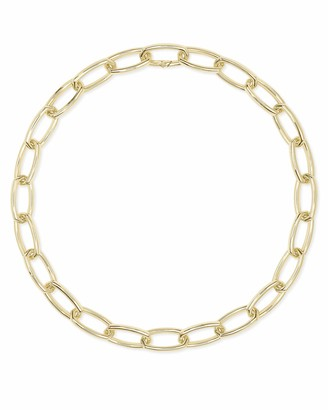 Kendra Scott Beckett Statement Necklace for Women Fashion Jewelry 14k Gold-Plated