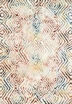 Loloi Folklore Rug Ivory/Prism