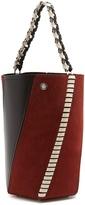 Proenza Schouler Hex medium suede and leather bucket bag