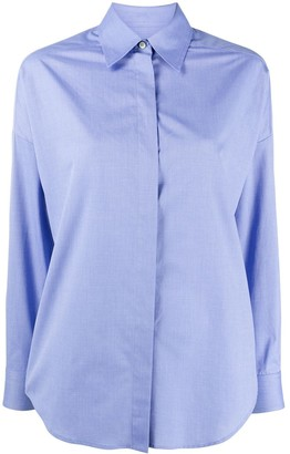 Alberto Biani Loose-Fit Cotton Shirt