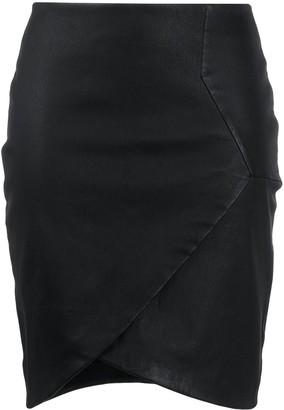 IRO Wrap-Style Midi Skirt