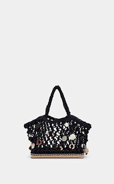 Altuzarra Women's Espadrille Small Rope Tote Bag - Navy