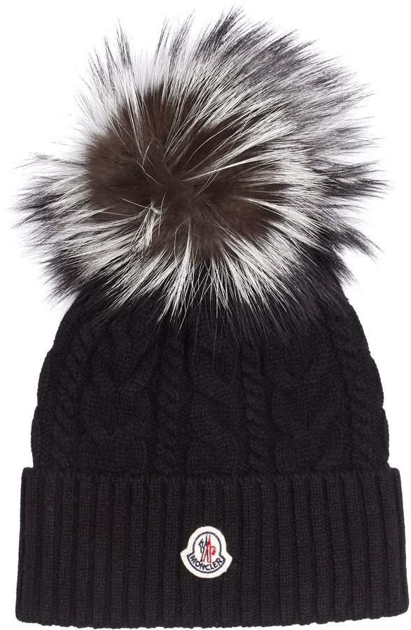 24f7d7846 Black Fur Hat - ShopStyle UK