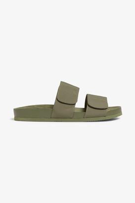 Monki Velcro strap sandals