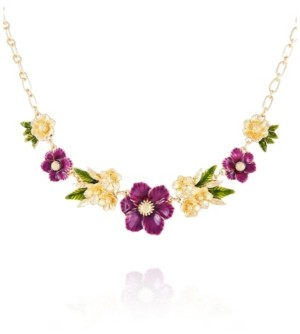 Nanette Lepore Winter Garden Statement Necklace