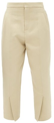 Colville - Cropped Slit-cuff Cotton-blend Trousers - Beige