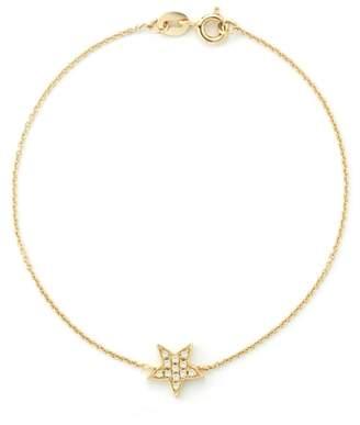 Dana Rebecca 14ct Yellow Gold Star Bracelet