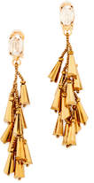 Oscar de la Renta Multi Cone Clip On Earrings