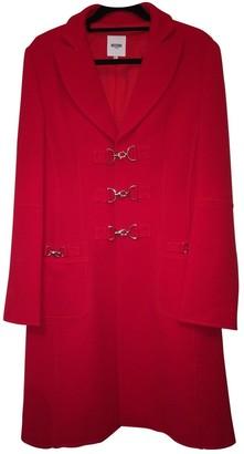 Moschino Love Red Coat for Women