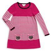 Design History Little Girl's Colorblock Striped Dress