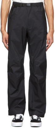 Snow Peak Black Wanderlust Trousers