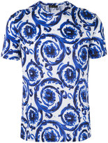 Versace Watercolour Baroque T-shirt - men - Cotton - M