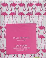 "Isaac Mizrahi Flamingos Indoor / Outdoor Tablecloth Oblong 60"" x 104"""