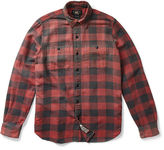 Ralph Lauren RRL Checked Cotton Twill Workshirt
