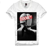 E1syndicate V-Neck T-Shirt Disobey Pin Up Eleven N65 Supreme S-Xl