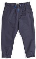 Armani Junior Boy's Cotton Twill Jogger Pants