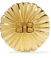 Balenciaga Gold-plated Clip Earring