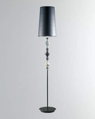 Lladro Belle de Nuit Floor Lamp II Black