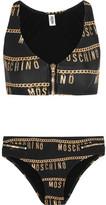 Moschino Printed Bikini