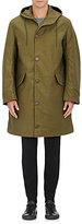 Nlst Men's Cotton Hooded Parka-Dark Green Size M