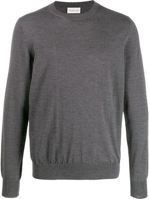 Moncler crewneck knitted jumper