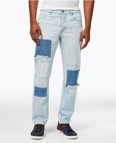 Jaywalker Men's Patchwork Indigo Jeans, Only at Macy's