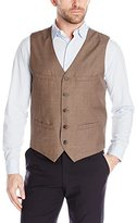 Perry Ellis Men's Heather Solid Suit Vest