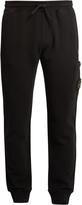 Stone Island Slim-fit cotton track pants